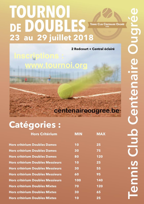 Tournoi double juil2018
